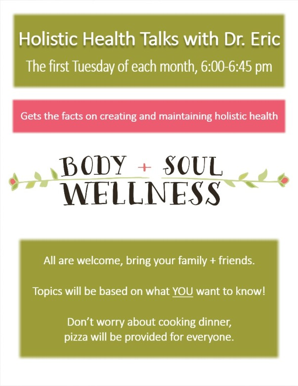 holistic health talk
